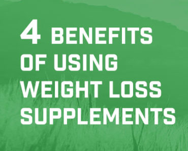 4 benefits of using weight loss supplements