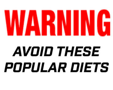 Popular Diets to Avoid