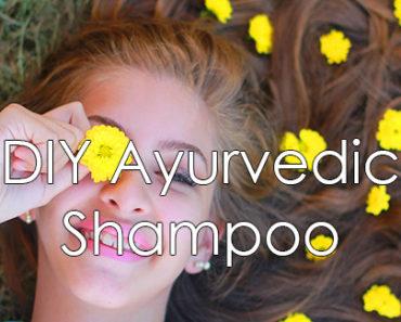 DIY Ayurvedic Shampoo