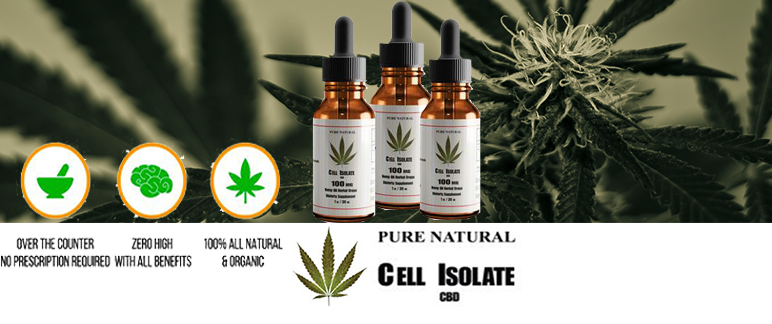 Cell Isolate CBD