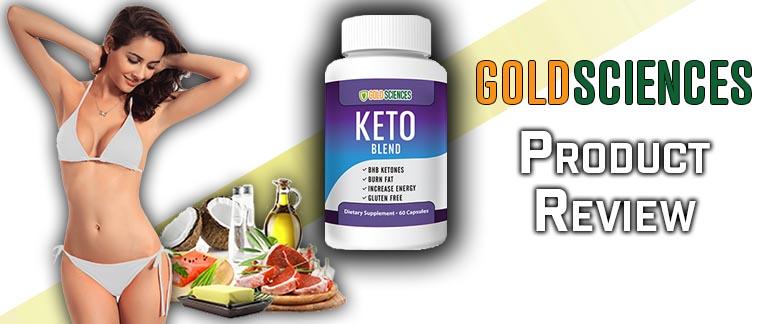 Gold Sciences Keto Blend Review