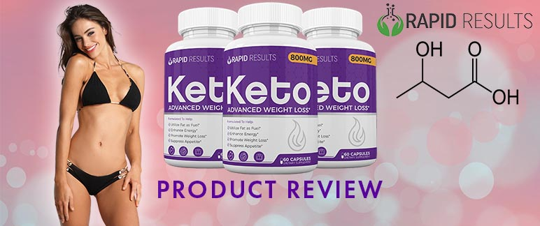 Rapid Results Keto Pills Review