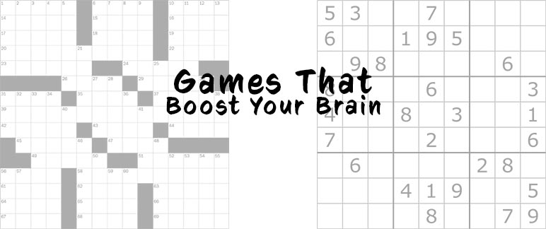 Games That Boost Your Brain